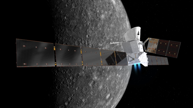 BepiColombo pri Merkurju